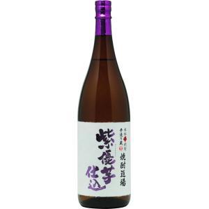 数量限定品 焼酎道場 紫優芋仕込(芋焼酎)25度 1800ml|nichinan-tv