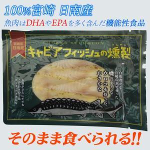 日南キャビア フィッシュスモーク 100%宮崎県日南産 チョウザメ燻製|nichinan-tv