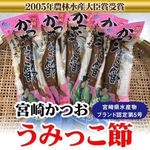 宮崎かつおうみっこ節 M 1袋1本 約110g 宮崎県水産ブランド認定 贈りものギフトに 日南市漁協女性部 冷蔵発送|nichinan-tv
