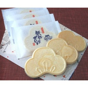 飫肥(おび)せんべい10枚入 国産もち米や日南産黒砂糖入り|nichinan-tv