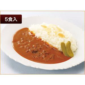 ニチレイ レストランユース ビーフカレー中辛 5食【常温】|nichireifoods