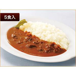 ニチレイ レストランユース 大盛ビーフカレー 5食【常温】|nichireifoods