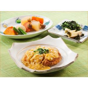 気くばり御膳 やわらかカツの卵とじ風とおかず3種【冷凍】ニチレイフーズ nichireifoods