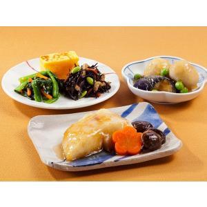 気くばり御膳 カレイの煮付け風とおかず4種【冷凍】ニチレイフーズ nichireifoods
