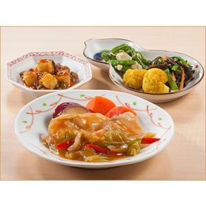 気くばり御膳 白身魚と彩り野菜の甘酢あんとおかず4種【冷凍】ニチレイフーズ nichireifoods