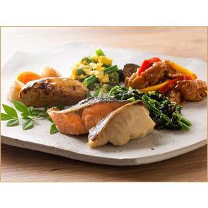 気くばり御膳パワーデリ 2種の魚の粕漬け焼きと豚の味噌炒めプレート【冷凍】ニチレイフーズ nichireifoods