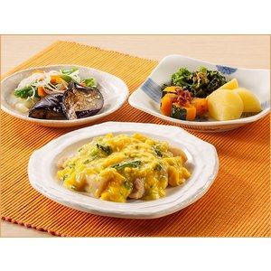 気くばり御膳 鶏肉の卵とじ風セット【冷凍】 ニチレイフーズ nichireifoods