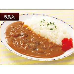 ニチレイ レストランユース ビーフカレー甘口 5食【常温】|nichireifoods