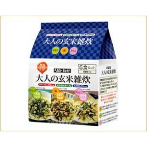 ニチレイ ヘルシーキユーピー 大人の玄米雑炊6食セット(3種類×2食入)【常温】|nichireifoods