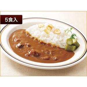 レストランユース 中辛カレー(ポーク) 5食【常温】 ニチレイフーズ|nichireifoods