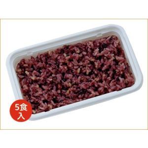 ニチレイ 冷凍ごはん 黒米と小豆のごはん(5食)|nichireifoods