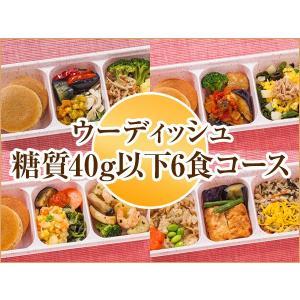 ウーディッシュ 糖質40g以下6食コース【冷凍】 ニチレイフーズ|nichireifoods