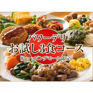 気くばり御膳パワーデリお試し3食コース [ショッピングモール限定]【冷凍】ニチレイフーズ