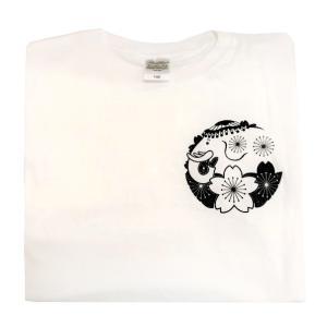 仏教の日 花まつり 降誕祭 Tシャツ 白|nichirin