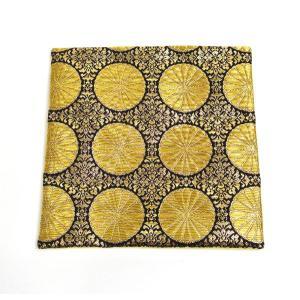 西陣織 金襴敷物 小菊 小仏像用アクリルケース20cm角にぴったりです|nichirin