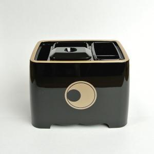 仏具容器4点セット(寺紋入)|nichirin