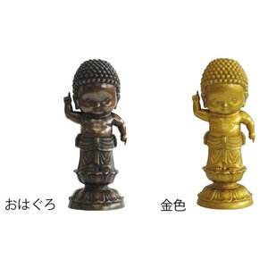 花まつり用 かわいい誕生仏 金色 日本製|nichirin