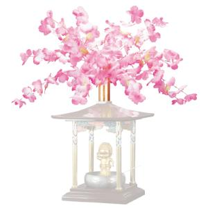 花まつり用 花御堂用 桜冠かざり|nichirin