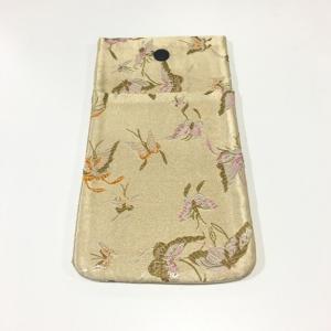 【メール便対応】 数珠袋 タテ型 ポケット付 C nichirin