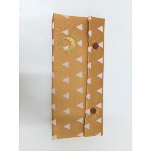 経典カバー 伝統和柄 三角うろこ 日月紋入 金刺繍 メール便対応 nichirin