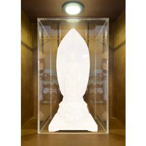 アクリルケース 家具調仏壇 BDK-20 国宝仏像5.5寸用サイズ|nichirin