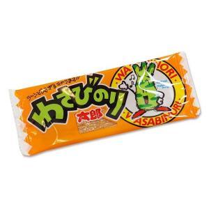 菓道 わさびのり太郎(60個入)駄菓子 珍味 景品 定番 激安 まとめ買い|nichokichi