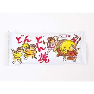 【駄菓子のバラ売り・スナック系駄菓子】 菓道 大人気スナック駄菓子 どんどん焼き