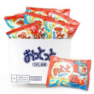 お菓子 業務用 まとめ買い スナック系のお菓子 森永 18gおっとっと(10袋入)|nichokichi