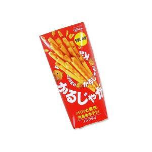 お菓子のまとめ買い・スナック系のお菓子 グリコ かるじゃが うましお味 (10個入)  |nichokichi