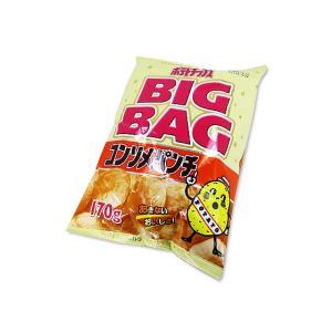 【 カルビー 】170g ポテトチップス BIG BAG コンソメパンチ(12個入)|nichokichi
