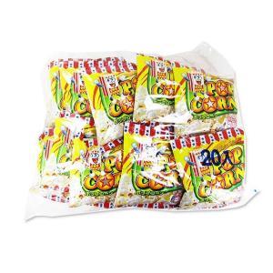 縁日やお祭りでかかせないポップコーン、20袋も入った業務用、小袋のスナック菓子です。  食べきりミニ...