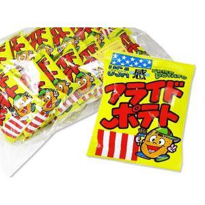 菓道 フライドポテト  (30個入) 駄菓子 業務用 まとめ買い スナック菓子 卸 問屋|nichokichi