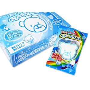 【駄菓子のまとめ買い・ラムネ系の駄菓子】 ビッグ ベアーズラムネ (20袋入)|nichokichi