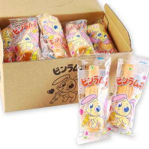 駄菓子 業務用 まとめ買い  ラムネ系の駄菓子 岡田商店 もなかのビンラムネ(20個入)