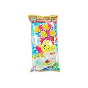 駄菓子 業務用 まとめ買い あめ知育系のお菓子 知育菓子 クラシエ ねるねるねるね ソーダ味 (10個入)|nichokichi