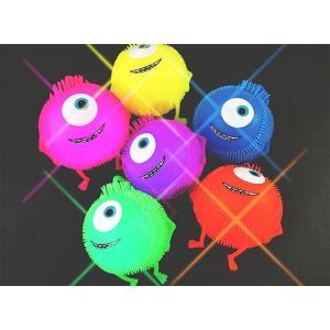 光るモンスターヨーヨー(12個入) 光るおもちゃ 景品 子ども会 縁日用品 お祭り|nichokichi