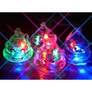 光るうんち君ペンダント(36個入)光るおもちゃ 景品 子ども会 縁日用品 お祭り|nichokichi