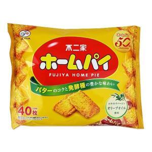 【お菓子のまとめ買い・ビスケット系のお菓子】不二家 ホームパイ 40枚入り 大袋(16袋入)|nichokichi