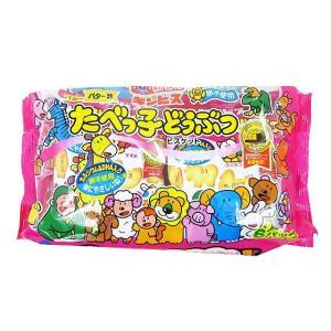 【お菓子まとめ買い・ビスケット・クッキー系のお菓子】 ギンビス たべっ子どうぶつ 6パック入 (12袋入)|nichokichi