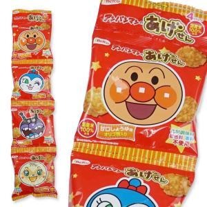 【お菓子まとめ買い・スナック系のお菓子】 栗山米菓 アンパンマンのあげせん 甘口しょうゆ味 15g×4連(12個入)|nichokichi