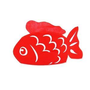 【お菓子用ラッピング・梱包資材】300W×210H 夏祭り・縁日に 金魚巾着(紐タイプ)  20枚入り|nichokichi