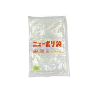 【お菓子用ラッピング・梱包資材】福助工業  ニューポリ袋no.12 (長さ340×巾230×厚さ0.02mm)100枚|nichokichi