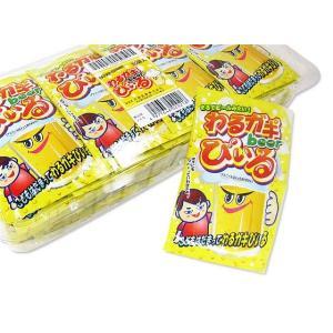【駄菓子のまとめ買い・ゼリー・ドリンク系の駄菓子】 共親 わるガキびいる (30袋入)|nichokichi