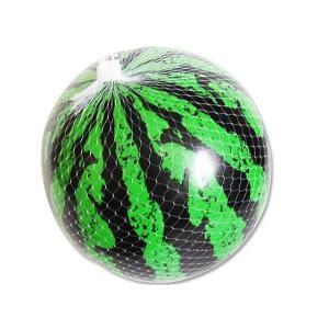 【景品玩具まとめ買い・スポーツ系のおもちゃ】スイカボール中18cm(24個入) nichokichi