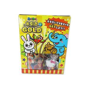 40回くじ引き わくわく糸引き ゴールド ( 40+ おまけ ) 子供会 景品 お祭り くじ引き 縁日 nichokichi