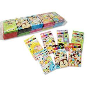【景品玩具まとめ買い・ファンシー・バラエティ系の玩具】ディズニー ツムツム かわいい8色えんぴつ(25個入)|nichokichi