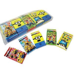 ミニオンズ 8色えんぴつ (25個入) 玩具 おもちゃ 景品玩具  縁日 お祭り くじ引き お子様ランチ 子供会|nichokichi