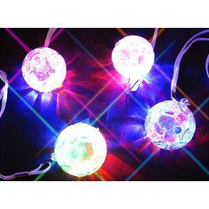 光る サッカー ペンダント (36個入) 光るおもちゃ 景品 子ども会 子供会 縁日 団扇 不良返品不可|nichokichi