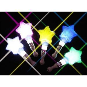 【光るおもちゃのまとめ買い・光り物の玩具】 BIG スターグリップ (24本入) nichokichi