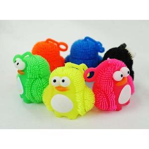 景品玩具まとめ買い・光るおもちゃのまとめ買い 光るペンギンヨーヨー|nichokichi